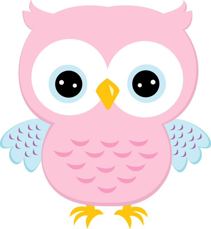 Barred Owl clipart carton Coruja 91 on Minus Pinterest