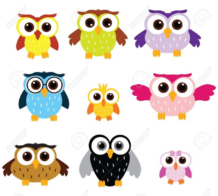 Barred Owl clipart carton Character on and Owl Character