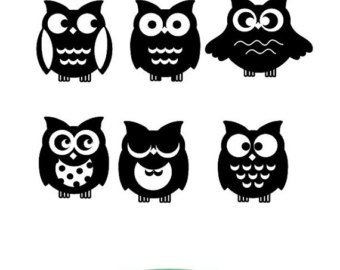 Barred Owl clipart cartoon halloween Svg Barred Owl Barred Download