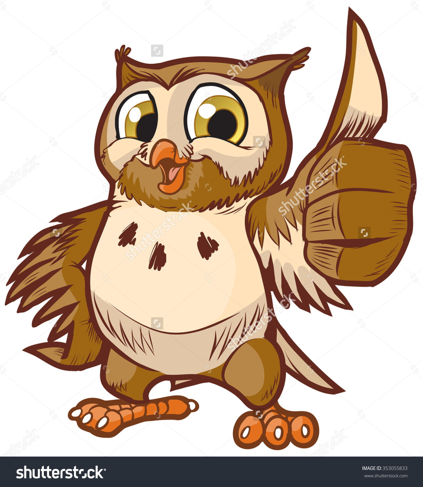 Barred Owl clipart happy Clip Owl art BBCpersian7 collections