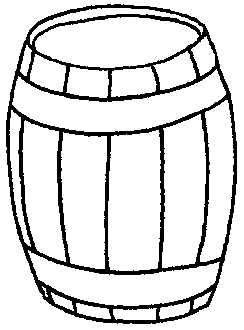 Pirate clipart barrel #13