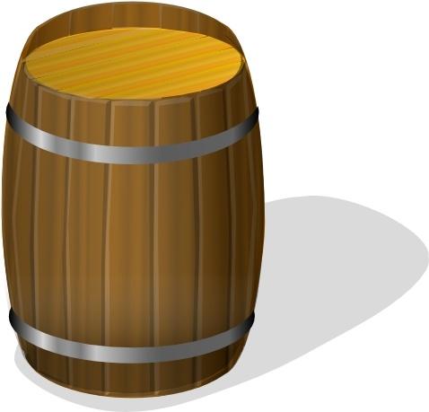 Barrel clipart Art in  vector svg