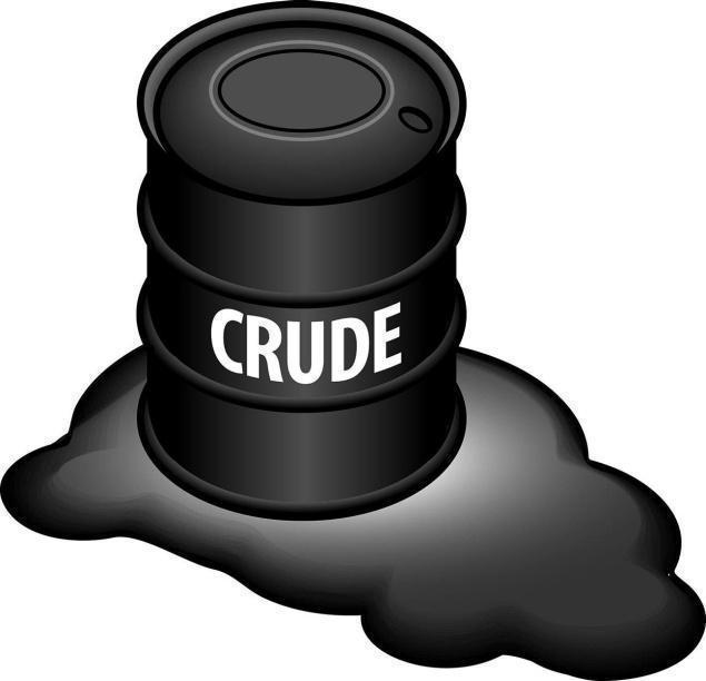Barrel clipart crude oil $51 crude stock In rise