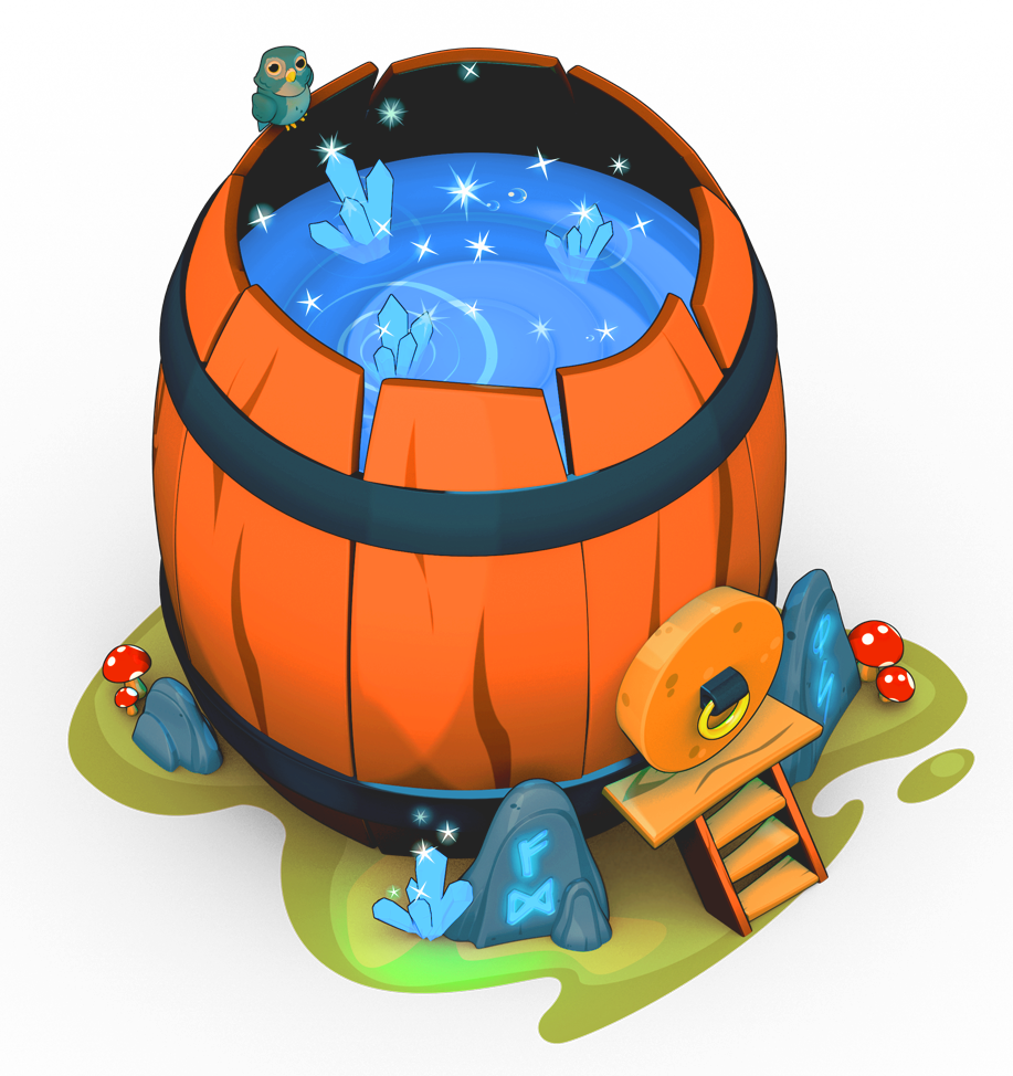 Barrel clipart game Is use so This elixir