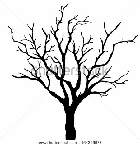 Wood clipart creepy Background with Barren tree best