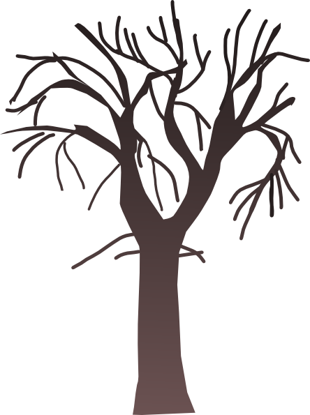 Brown clipart bare tree Tree Free Panda Bare Clipart