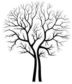 Barren clipart autumn tree Stencil use Barren x To