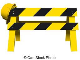 Barrier clipart Construction Barrier 18 Barrier Clip