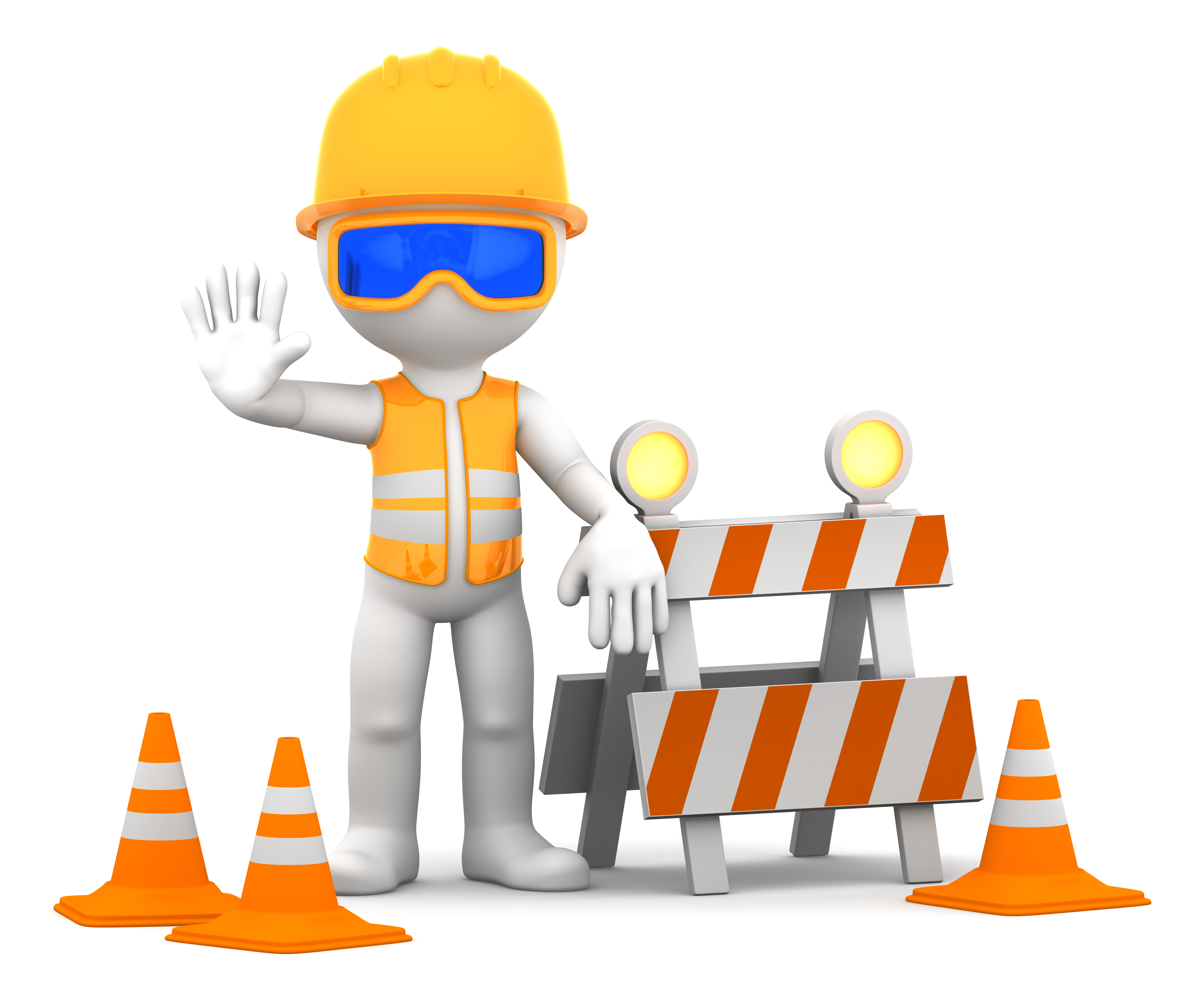 Barrier clipart industrial safety Safety Safety clipart free