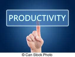Barrier clipart productivity improvement Clip Art Productivity  Clipartby