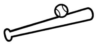 Baseball Bat clipart ball Baseball Bat « ClipartPen Clipart