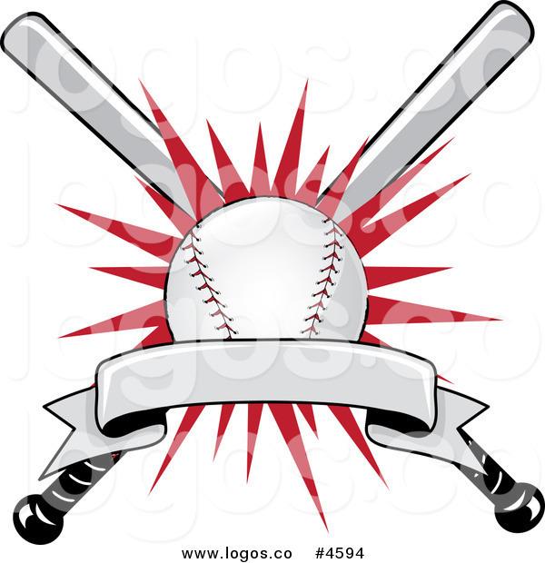 Baseball clipart banner Blank Logo Baseball Logo Free