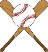 Ball clipart baseball bat Free Bat Patriot Baseball Clip