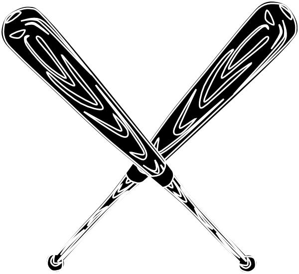 Black clipart baseball bat Clipart kid Cliparting softball bat
