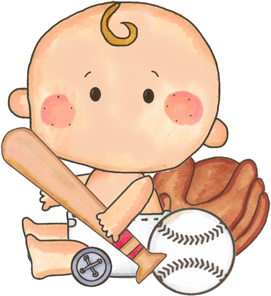 Baseball clipart baby baseball Photo by by · art