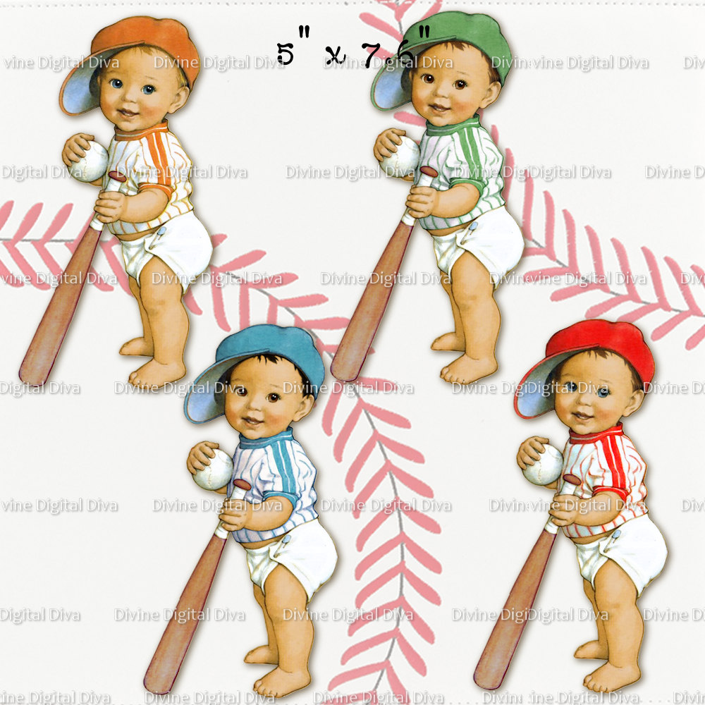 Baseball clipart baby boy Lil Baby  Light file