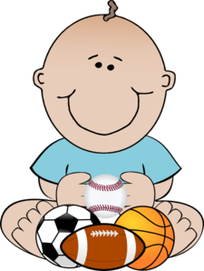 Baseball clipart baby boy Cliparts Baseball Cliparts Baby baseball