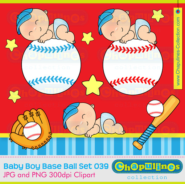 Baseball clipart baby boy Newborn Shower commercial Baseball boy