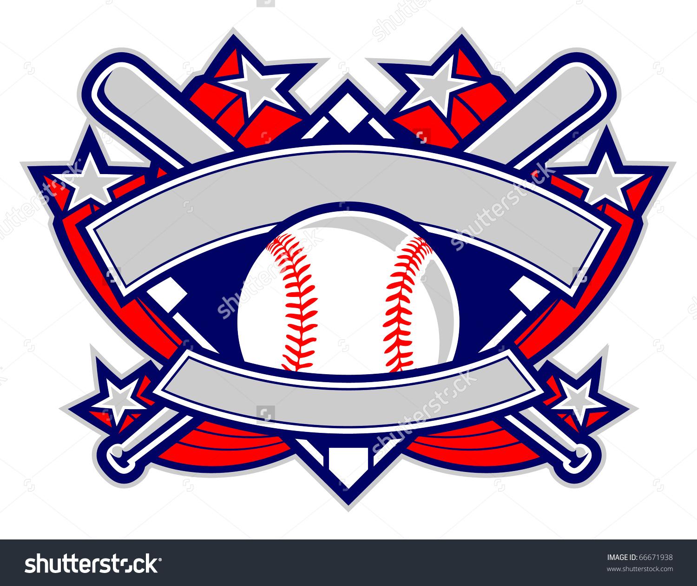 Baseball clipart banner Template Banner Template PPT Powerpoint