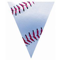Baseball clipart banner F banner pennant Alphabet Alphabet