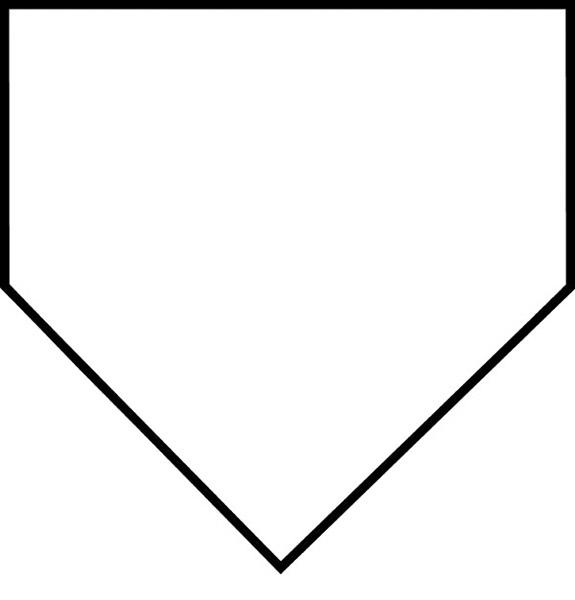 Baseball clipart baseball base Clipart base Baseball base clipart