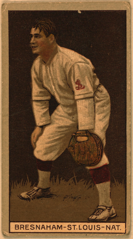 Baseball clipart baseball card [bresnahan Baseball Card St bresnahan