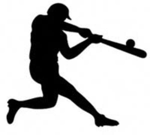 Baseball clipart baseball swing Images Clker at art