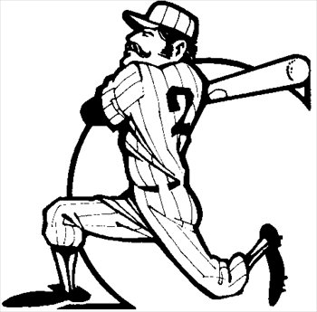 Baseball clipart baseball swing Free Graphics Clipart  swing