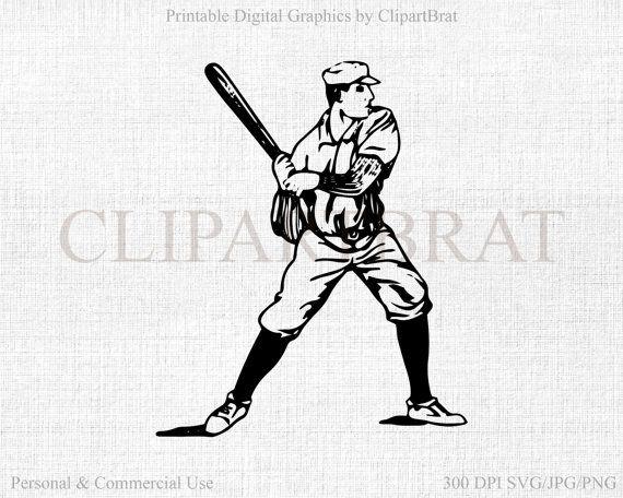 Baseball clipart baseball swing By 54 ClipArtBrat Art images