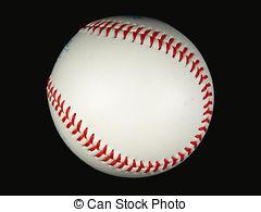 Baseball clipart black background Black on Baseball and Images