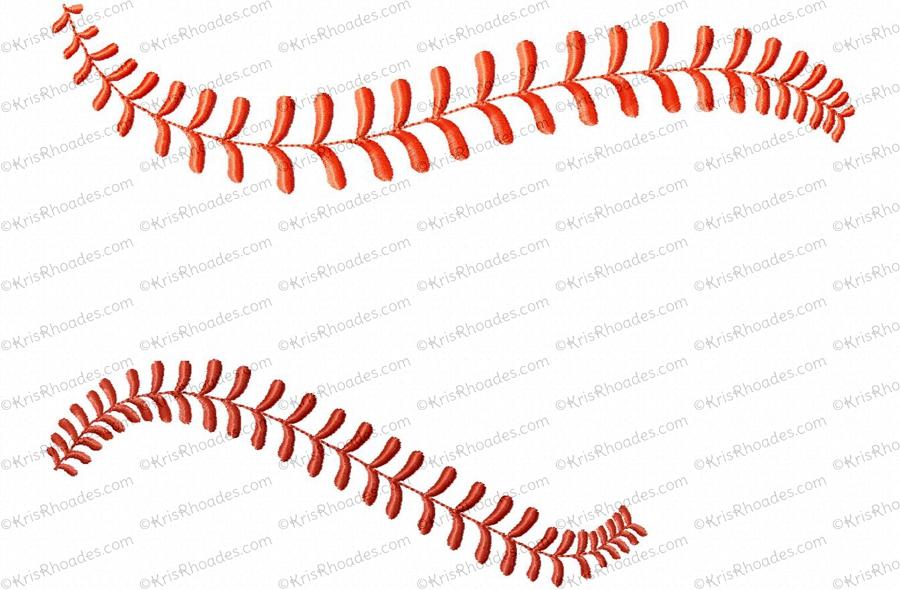 Baseball clipart border Collection borders clipart Baseball thread