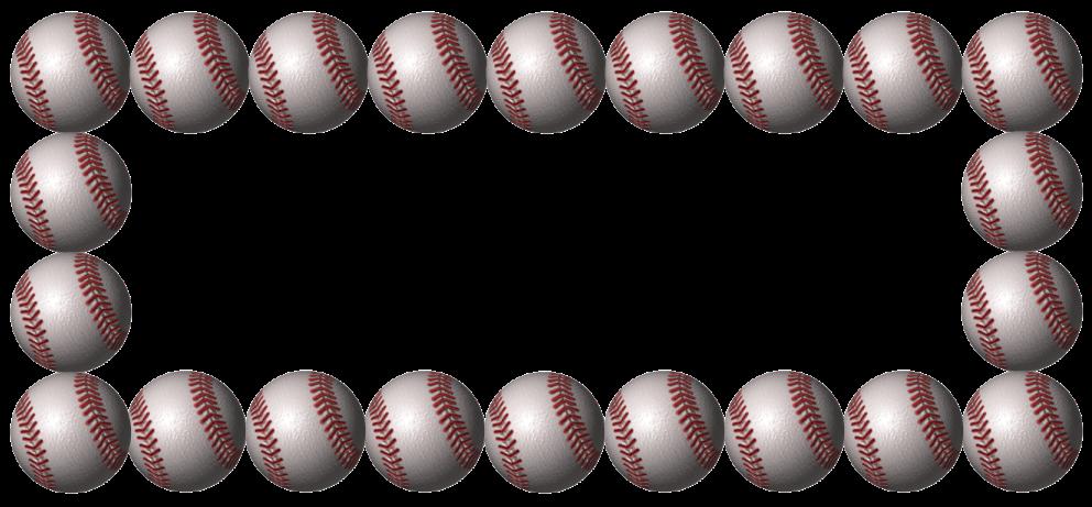 Baseball clipart border Com Borders Baseball clipartsgram Baseball