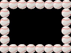 Baseball clipart border Art  clip vector Birthday
