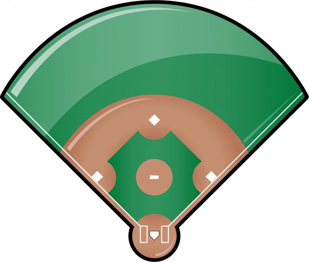 Baseball Art Clip Baseball Field