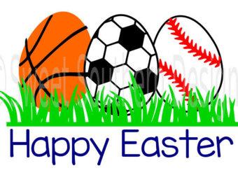 Easter clipart softball #3