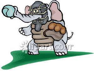 Baseball clipart elephant Free Elephant An Clipart Clipart