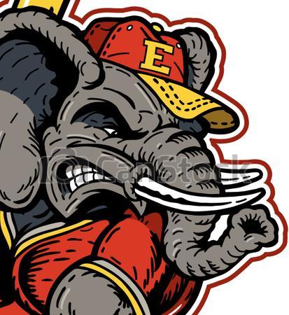 Baseball clipart elephant On clipart Vectors baseball Find