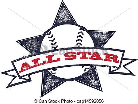Baseball clipart emblem Or Softball All of csp14592056