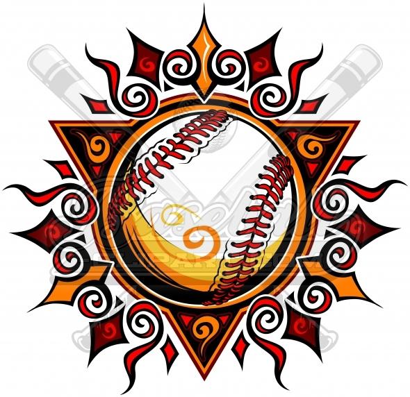 Baseball clipart emblem Image Baseball sun baseball Sun
