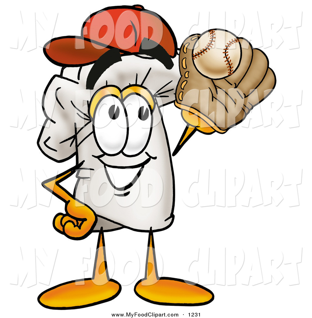 Baseball clipart food #11