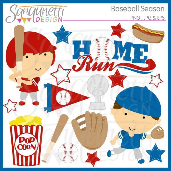 Baseball clipart food #10