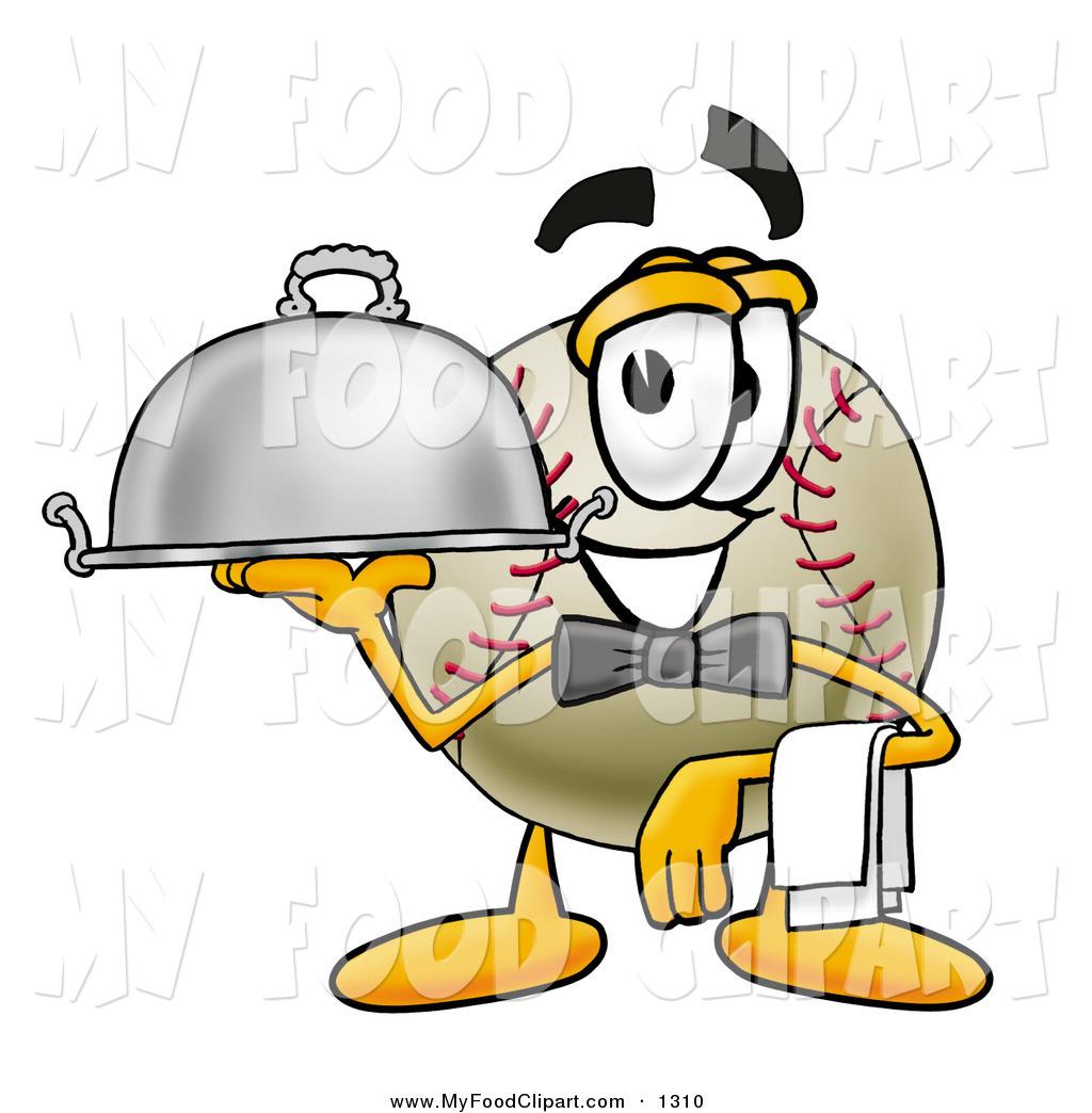Baseball clipart food #9