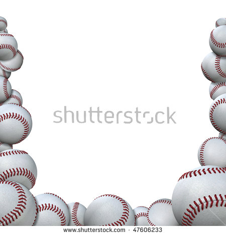 Baseball clipart frame Royalty Stock Sport free Clipground