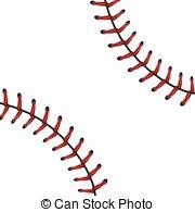 Baseball clipart lace #5