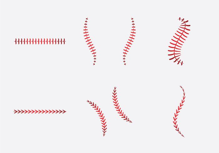 Baseball clipart lace #9