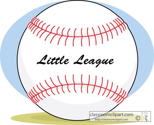 Baseball clipart little league baseball #3