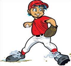 Baseball clipart little league baseball #2