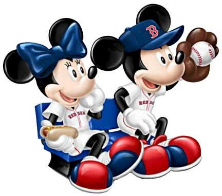 Baseball clipart minnie mouse #9