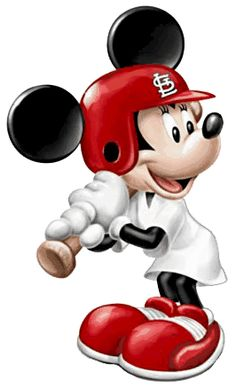 Baseball clipart minnie mouse #15