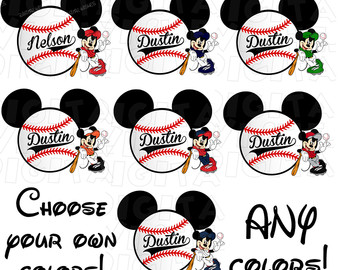 Baseball clipart minnie mouse #7